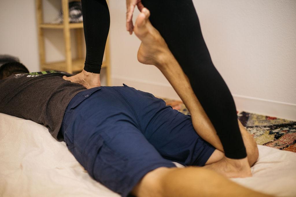 Sports Massage Mat Session