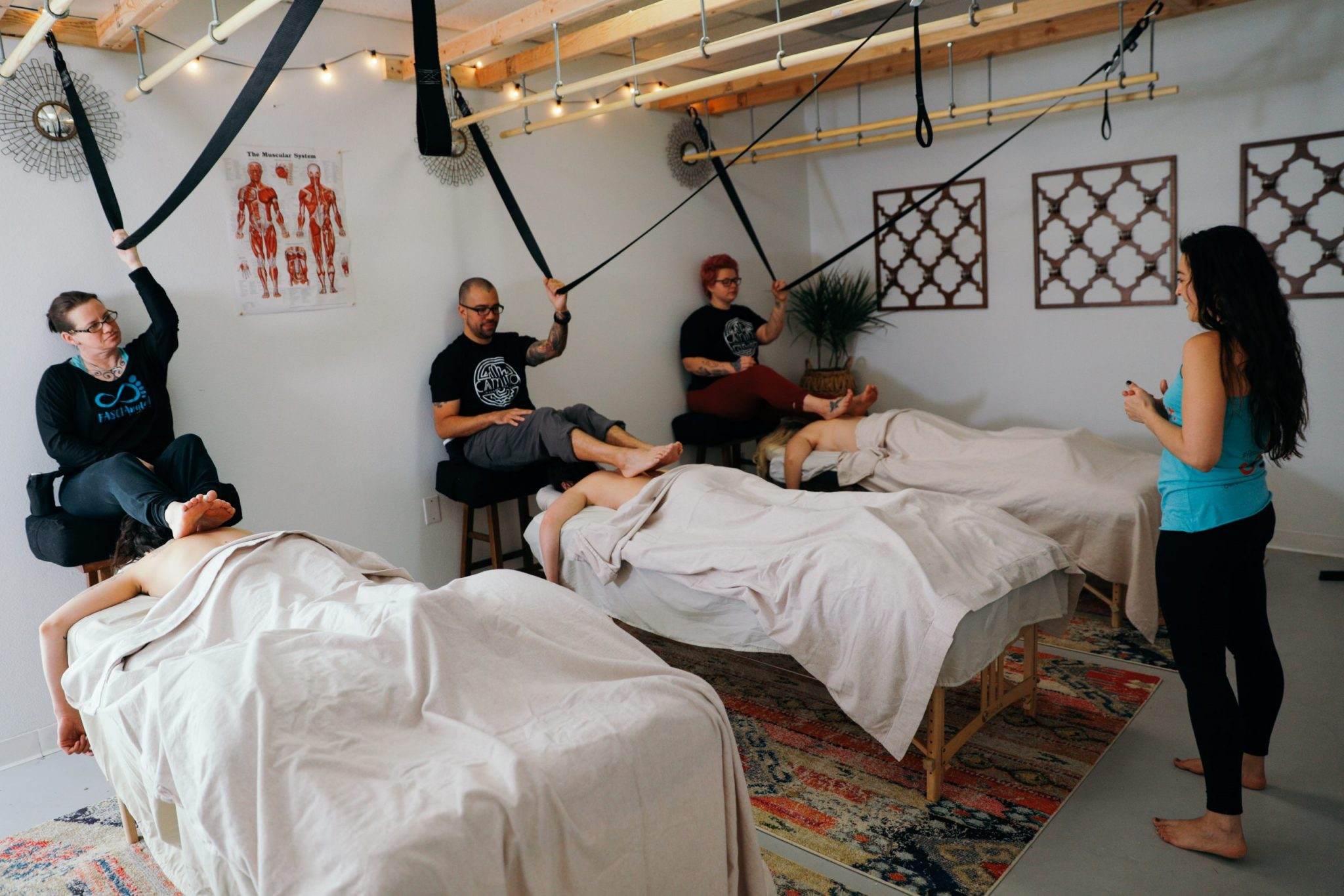 Barefoot Massage Training